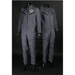 LIFEFORCE (1985) - Pair of Churchill Crew Flight Suits and Churchill Astronaut Patch