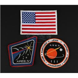 MARTIAN, THE (2015) - Ares III and Ares IV Mission Patches