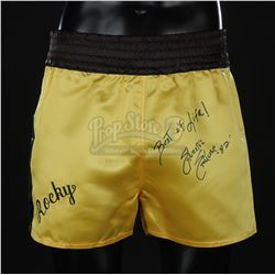 ROCKY III (1982) - Rocky's (Sylvester Stallone) Autographed Shorts
