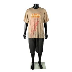 SHAUN OF THE DEAD (2004) - Ed's (Nick Frost) Costume