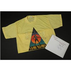 STAR WARS: A NEW HOPE (1977) - George Lucas and Gary Kurtz Autographed Crew Book and Crew Shirt