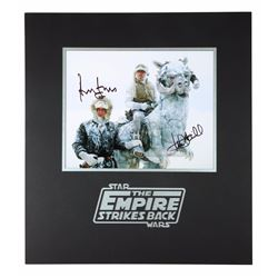 STAR WARS: THE EMPIRE STRIKES BACK (1980) - Harrison Ford and Mark Hamill Autographed Photograph