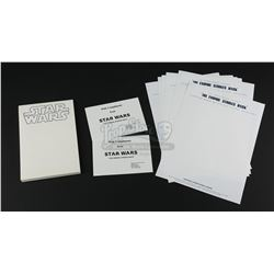 STAR WARS: THE EMPIRE STRIKES BACK (1980) - Production Stationery and Ephemera