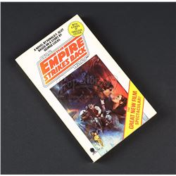 STAR WARS: THE EMPIRE STRIKES BACK (1980) - Main Cast Autographed Novelisation