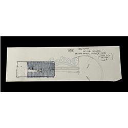 STAR WARS: THE EMPIRE STRIKES BACK (1980) - Ralph McQuarrie Hand-Drawn Reactor Vane Thumbnail