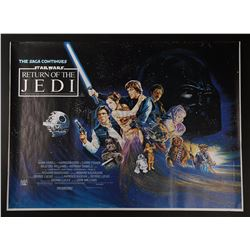 STAR WARS: RETURN OF THE JEDI (1983) - Printer's Proof UK Quad Poster