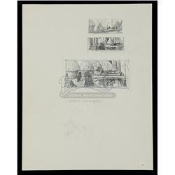 STAR WARS: RETURN OF THE JEDI (1983) - Ralph McQuarrie Hand-Drawn Portfolio Thumbnail Sketches — Ewo