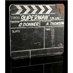 SUPERMAN (1978) - Travelling Matte Unit Clapperboard