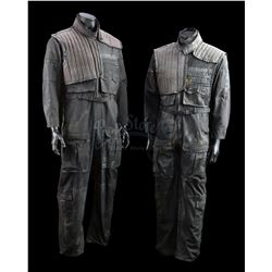 TERMINATOR 2: JUDGMENT DAY (1991) - Pair of Future War Resistance Soldier Jumpsuits