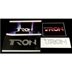 TRON (1982) - Printed Main Title Concept Art