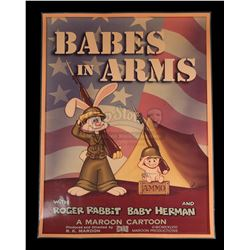 WHO FRAMED ROGER RABBIT (1988) - Maroon Cartoons 'Babes In Arms' Poster