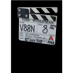 WOLFMAN, THE (2010) - 'A' Camera Clapperboard