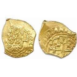 Mexico City, Mexico, cob 1 escudo, (1711-3)(J), from the 1715 Fleet.