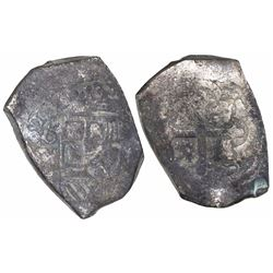 """Mexico City, Mexico, cob 8 reales, (17)31/0(F), ex-""""Horn of Africa"""" hoard."""