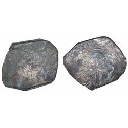 """Mexico City, Mexico, cob 8 reales, 1731F, ex-""""Horn of Africa"""" hoard."""