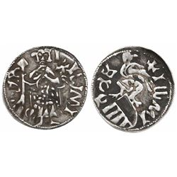 Wallachia (Romania), ducat, Mircea the Old (1386-1418, Dracula's grandfather), struck after 1396.