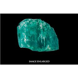 Large (dark) natural emerald, 5.58 carats, from the Atocha (1622).