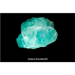 Large (light) natural emerald, 5.08 carats, from the Atocha (1622).