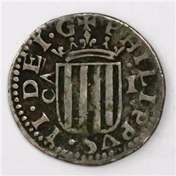 Zaragoza, Spain, 1 real, Philip III, 1611.