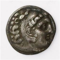 Kingdom of Macedon, AR drachm, Alexander III (the Great), ca. 336-323 BC, Kolophon mint, 310-301 BC.