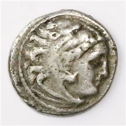 "Kings of Macedon, AR drachm, Alexander III (""the Great""), 336-323 BC, Kolophon mint, struck 323-319"