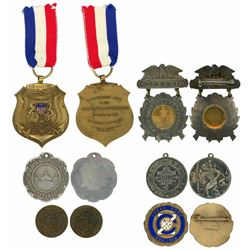Lot of six Panama medals, 1910-13, assorted Panama themes, ex-Richard Stuart.