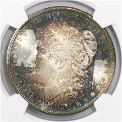 USA (San Francisco mint), $1 Morgan, 1879-S, encapsulated NGC MS 64.