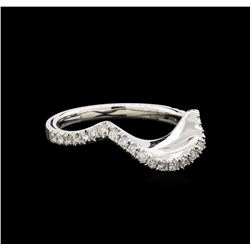 0.33 ctw Diamond Wedding Band - 14KT White Gold