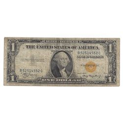 1935 $1 North Africa Silver Certificate Currency