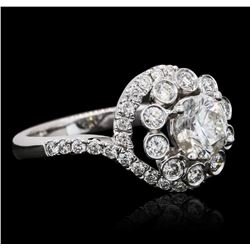 18KT White Gold 1.98 ctw Diamond Ring