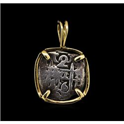 Antique Coin Pendant