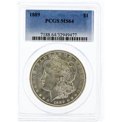 1889 PCGS MS64 Morgan Silver Dollar
