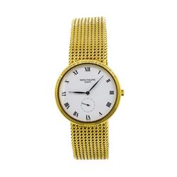 Patek Philippe 18KT Yellow Gold Calatrava Men's Watch