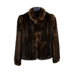 Brown Lunaraine Mink Jacket