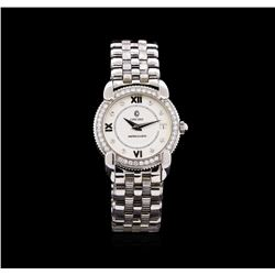 Concord Stainless Steel Diamond Impresario Ladies Watch