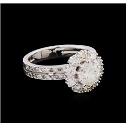 14KT White Gold 2.76 ctw Diamond Ring