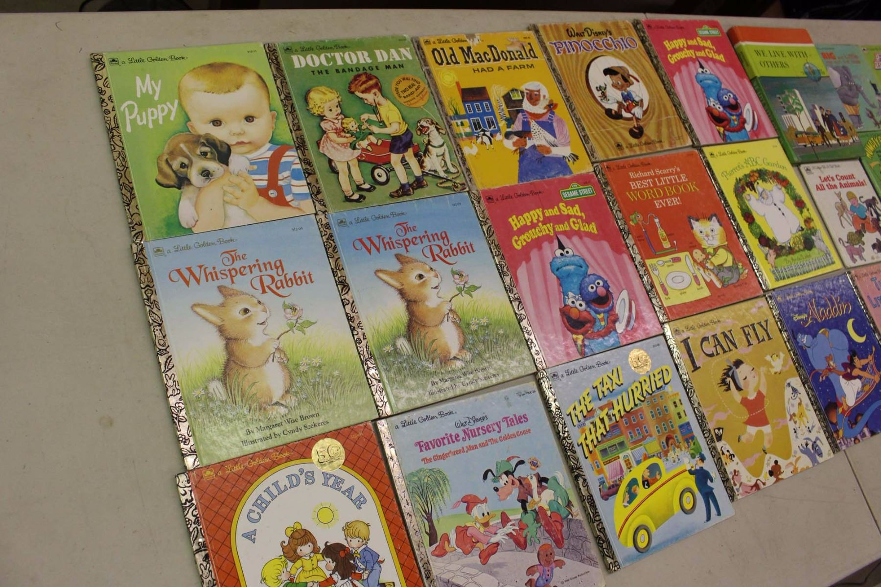 Lot Of Children Books 26 1970s 90s Old Macdonald Aladdin Peter