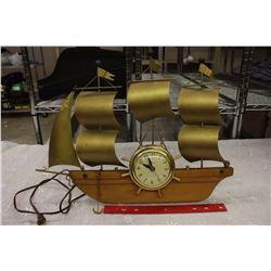 United Ship Clock (Model No. 110)(Working Condition)