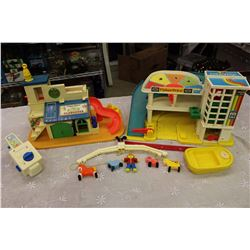 Fisher Price Toys (Sesame Street Clubhouse, Little People Garage, Crib Mobile, Etc;)