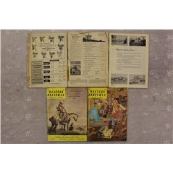 The Western Horseman Magazines(5)(Dated 1954,1955&1961(3))