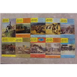 The Western Horseman Magazines(1972 Complete Year)