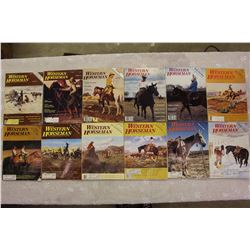 The Western Horseman Magazines(1980 Complete Year)