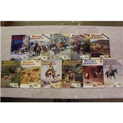 The Western Horseman Magazines(1995 Near Complete)(Missing March)