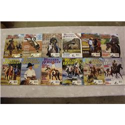 The Western Horseman Magazines(1999 Complete Year)