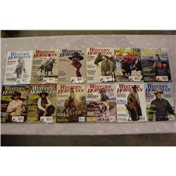 The Western Horseman Magazines(2000 Complete Year)