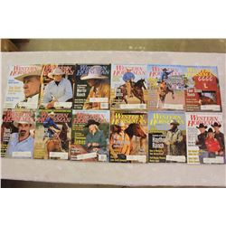 The Western Horseman Magazines(2005 Complete Year)