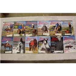 The Western Horseman Magazines(2007 Complete Year)