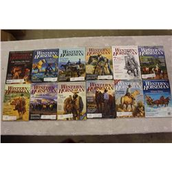 The Western Horseman Magazines(2012 Complete Year)