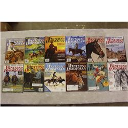 The Western Horseman Magazines(2016 Complete Year)