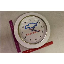 Chevrolet Clock (Working)(Battery Operated)